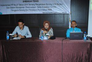 Sosialisasi Permendagri 08-09 September 2016 di Bandung