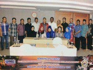 Bimtek Tata Naskah Dinas di Lingkungan Sekretariat DPRD Provinsi