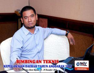 Bimtek Kepegawaian Daerah 23-24 November di Lombok