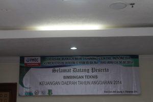 Workshop Kapasitas Kinerja Aparatur Pemerintah Bendahara SKPD dan Pengelolaan Akuntansi