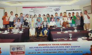 Workshop Pemanfaatan Teknologi Informasi dan Peraturan Presiden tentang PBJ Pemerintah