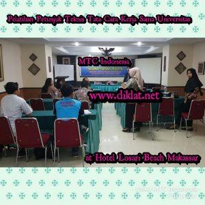 Pelatihan Petunjuk Teknis Tata Cara Kerja Sama Universitas