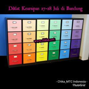 Diklat Kearsipan 27-28 Juli di Bandung, Hotel Cemerlang Bdg