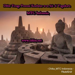 Diklat Tenaga Promosi Kesehatan 11-12 Juli di Yogyakarta