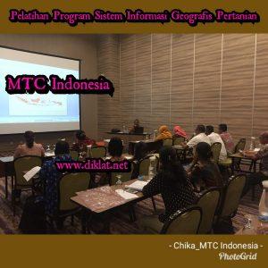 Pelatihan Program Sistem Informasi Geografis Pertanian