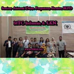 Seminar Asistensi Dalam Penyusunan Renstra SKPD
