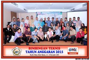 Foto Bimtek Th. Anggaran 2015 di Hotel Pacific Palace Batam