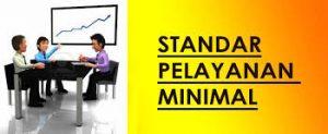 diklat standar pelayanan minimal