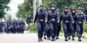Diklat Ketentraman dan Ketertiban Umum Satuan Polisi Pamong Praja