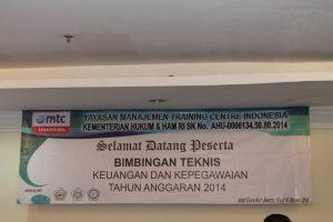 Bimtek Kepegawaian Tentang Pengelolaan Jabatan Fungsional Umum dan Kompetensi Jabatan