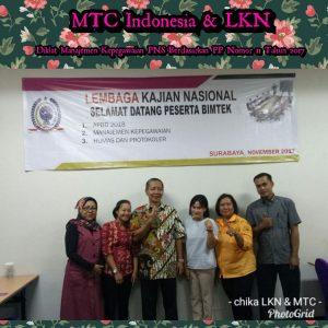 Diklat Manajemen Kepegawaian PNS Berdasarkan PP Nomor 11 Tahun 2017