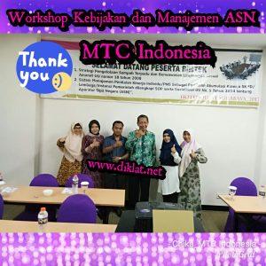 Workshop Kebijakan dan Manajemen ASN