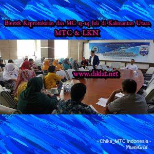 Bimtek Keprotokolan dan MC 13-14 Juli di Kalimantan Utara
