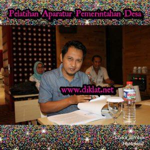 Pelatihan Aparatur Pemerintahan Desa