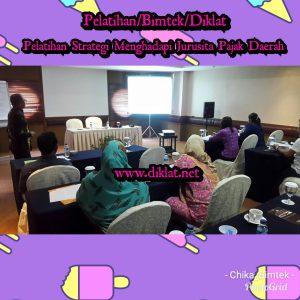Pelatihan Strategi Menghadapi Jurusita Pajak Daerah