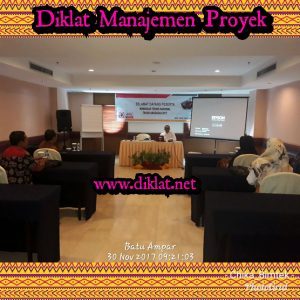 Diklat Manajemen Proyek